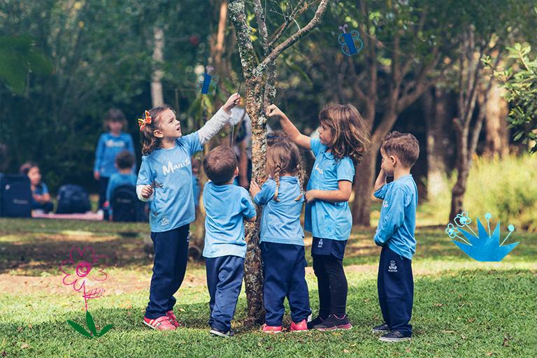 Proposta pedagógica coloca a criança como protagonista