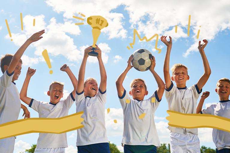 competitividade crianças