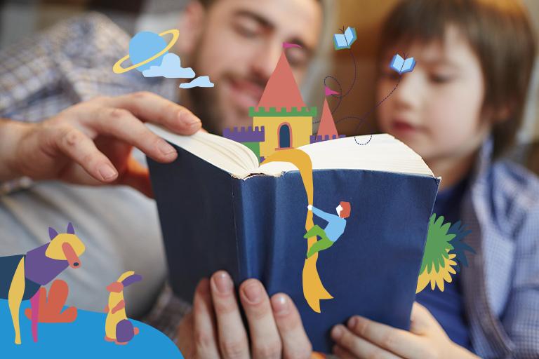 leitura crianças
