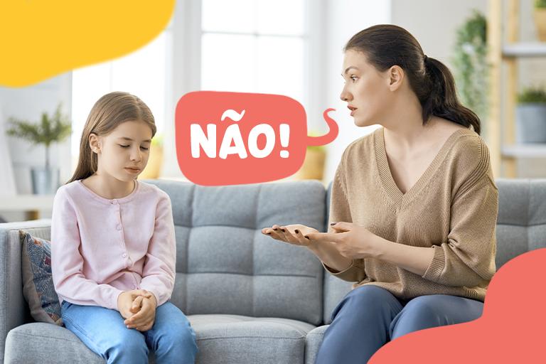 dizer não crianças
